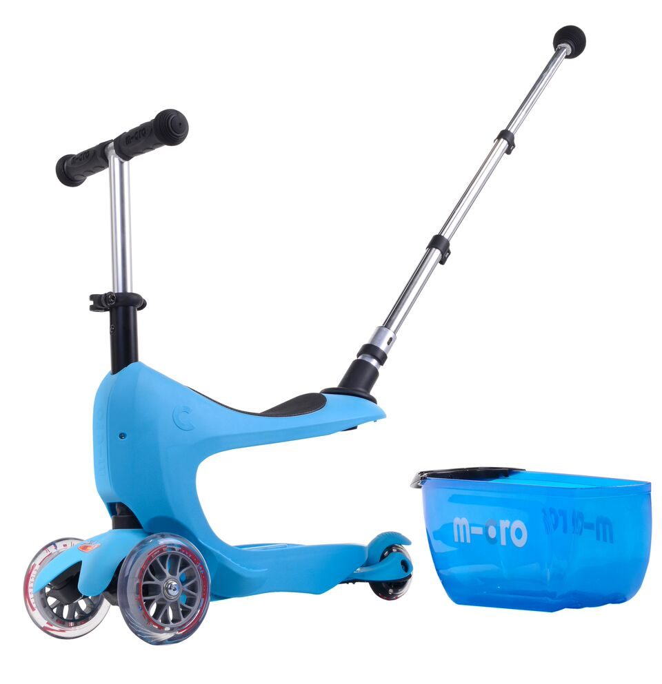 Micro Mini2go Deluxe plus - modrá (blue)