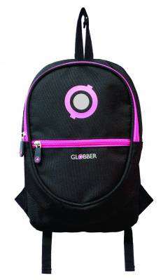 Ruksak Globber Junior Black/Neon Pink