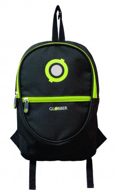 Ruksak Globber Junior Black/Lime Green