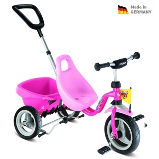 Trojkolka PUKY Carry Touring Tipper CAT 1 S  pink